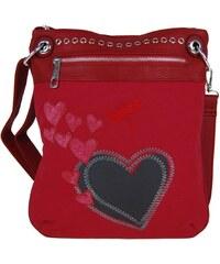 Tapple Červená crossbody kabelka Avril