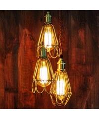 Industrial style, Dekorační svítidlo 25x12x12cm (334)
