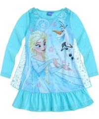 Disney Die Eiskönigin Nachthemd blau in Größe 104 für Mädchen aus Vorderseite: 100% Polyester 100% Polyester 100% Baumwolle