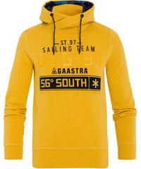 Gaastra Hoodie Polaris jaune Hommes