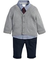Mamas & Papas Baby-Jungen Bekleidungsset and 4 Piece Knit Cardigan Set