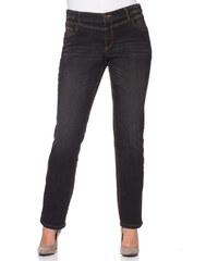 sheego Strečové džíny, sheego černý Denim - Normální délka nohavic (N)