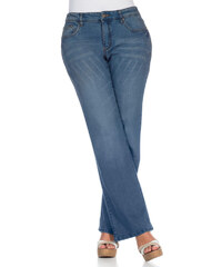 sheego Strečové džíny, sheego modrý Denim - Extra krátké/extra dlouhé nohavice (EK, EL)