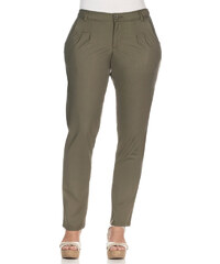 SHEEGO STYLE Kalhoty Chino, sheego Casual khaki - Normální délka (N)