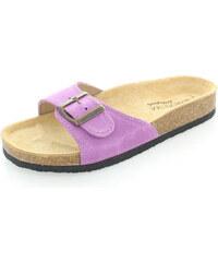 Dámské fialové pantofle Protetika T80