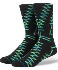 Zeleno-černé vzorované ponožky Stance The Ancients