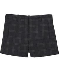 MANGO Karierte Shorts