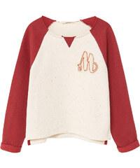 MANGO KIDS Kombiniertes Baumwoll-Sweatshirt