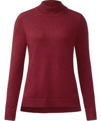 Street One Turtleneck Pullover Greta - vintage red, Damen