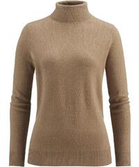 hessnatur Damen Rollkragen-Pullover aus Schurwolle mit Kaschmir