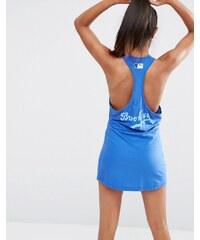 Majestic - Brooklyn - Robe de plage dos nageur - Bleu