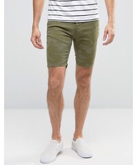 Hoxton Denim - Short - Camouflage kaki - Vert