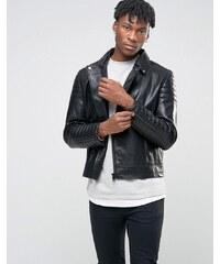 BL7CK - Perfecto en laine - Noir