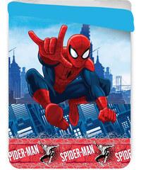 JERRY FABRICS Letní prošívaná deka Spiderman polyester 180/260 cm