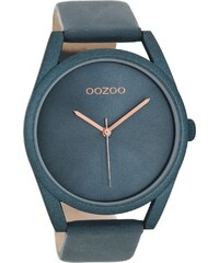 Oozoo Damen-Armbanduhr mit Lederband Blau C8398