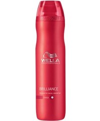 Wella Professionals Brilliance Shampoo Coarse 250 ml