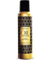 Matrix Oil Wonders Flash Blow Dry Oil vlasový olej 185 ml