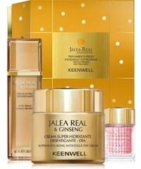 Keenwell Jalea Real denní hydratační krém 50 ml + noční výživný krém 50 ml + krém na oční okolí 15 m