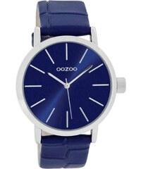 Oozoo Damen-Armbanduhr mit Lederband 40 mm Blau C8422