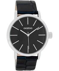 Oozoo Damen-Armbanduhr mit Lederband Schwarz C8424