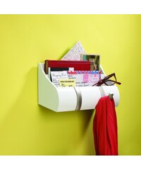 Umbra Organizér na dopisy a klíče Cubby | bílá