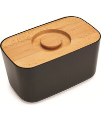 Chlebník s prkénkem JOSEPH JOSEPH Bread Bin   černý