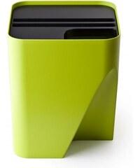 Stohovatelný odpadkový koš QUALY Block 30 | zelený