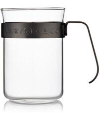 Šálky na kávu 2ks BARISTA&Co Cups GunMetal   černé