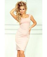 LAFIRA Dámské světle růžové šaty 53-6 b901d1e18e