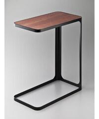 Elegantní boční stolek YAMAZAKI Frame | černý