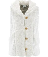bpc bonprix collection Teddy-Fleece-Weste ohne Ärmel in weiß für Damen von bonprix