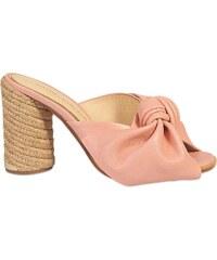 PALOMA BARCELO Florence - Sandales en cuir - rose