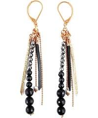Ni une ni deux bijoux Bohème - Boucles d'oreilles - bicolore