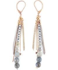 Ni une ni deux bijoux Bohème - Boucles d'oreilles - taupe