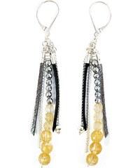 Ni une ni deux bijoux Bohème - Boucles d'oreilles - tricolore