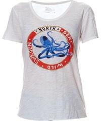 Léon & Harper Toro - T-shirt en coton organique - blanc