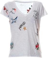 Léon & Harper Tintin - T-shirt en coton organique - blanc