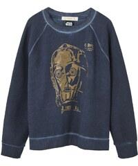 Mango Kids Star Wars - Sweat-shirt - bleu foncé