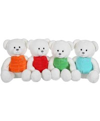 Gipsy Ours Gilet - Lot de 4 peluches - multicolore