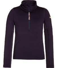 Nike Performance PRO HYPERWARM Tshirt à manches longues purple dynasty/peach cream