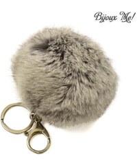 Jablonec Přívěsek na kabelku - klíčenka prq125-71 - šedý