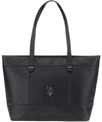 Černá větší kabelka na zip U.S. Polo Assn