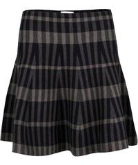 Zeleno-černá pruhovaná sukně Apricot