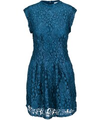 Petrolejové krajkované šaty Apricot