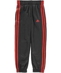 Tepláky adidas 3 Stripe Fleece dět.