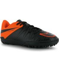 Turfy Nike Hypervenom Phelon dět. černá/oranžová