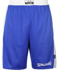 Basketbalové kraťasy Spalding Reversible pán. královská modrá/bílá