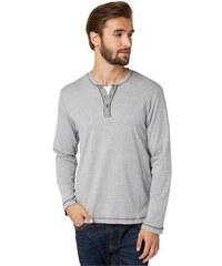 Tom Tailor T-Shirt striped henley grau L,M,S,XL,XXL,XXXL