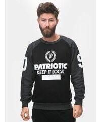 Patriotic P Laur Crewneck Black Graphite