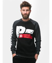 Patriotic Brush Crewneck Black Graphite